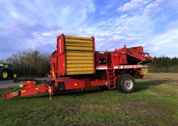 Grimme SE 15060 med hjultrk XXL rensesystem
