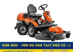 Husqvarna R 320X AWD Inkl 112 cm klippebord  klippeaggregat