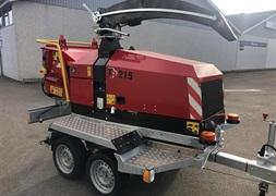 TP 215 MOBIL med drejekrans og easy control  klar til omgende levering