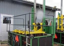 CompacTree Pakkemaskine Model med sidemonteret elevator og kulturklar maskine