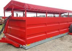 Flovlev Vognen transport vogn uden hjulkasse m galv bund