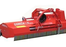 Concept Perugini PT140 Slagleklipper Bagmonteret m hydr Sideforskydning
