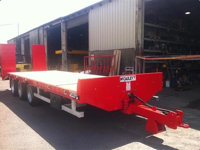 MAC 33 tons maskintrailer