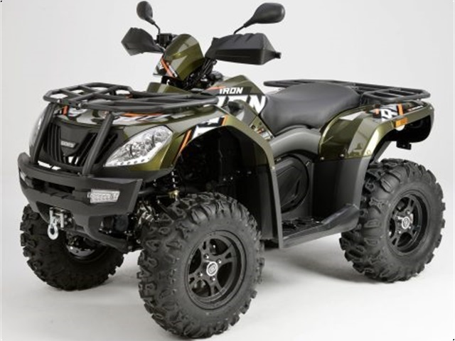 Goes Iron 450 Ltd. 4x4 Green