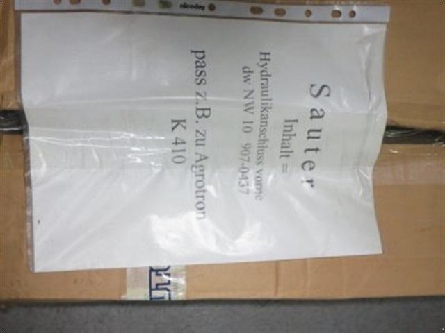 - - - <![CDATA[Sauter Hydraulikanschluß (vorne) für Agrotron K Baureihe]]>
