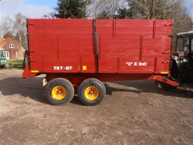 Tim 7.5 tons boggie